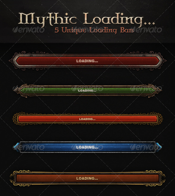 GraphicRiver Mythic Loading.. 5232064