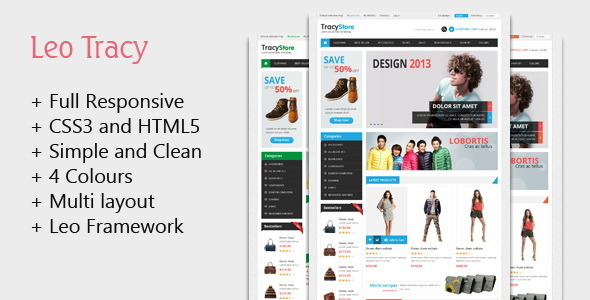 ThemeForest Leo Tracy Prestashop Theme 5232125