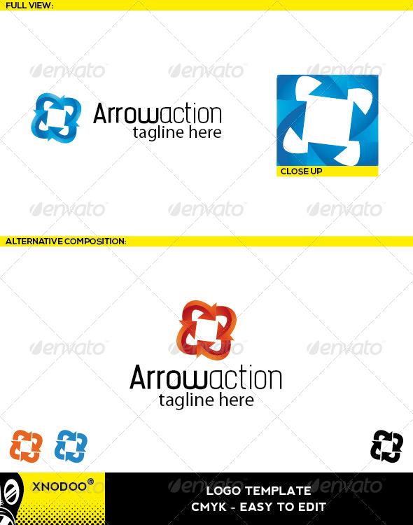 GraphicRiver Arrowaction Logo 5209697