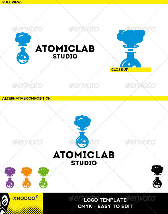 GraphicRiver Atomiclab Logo 5210034