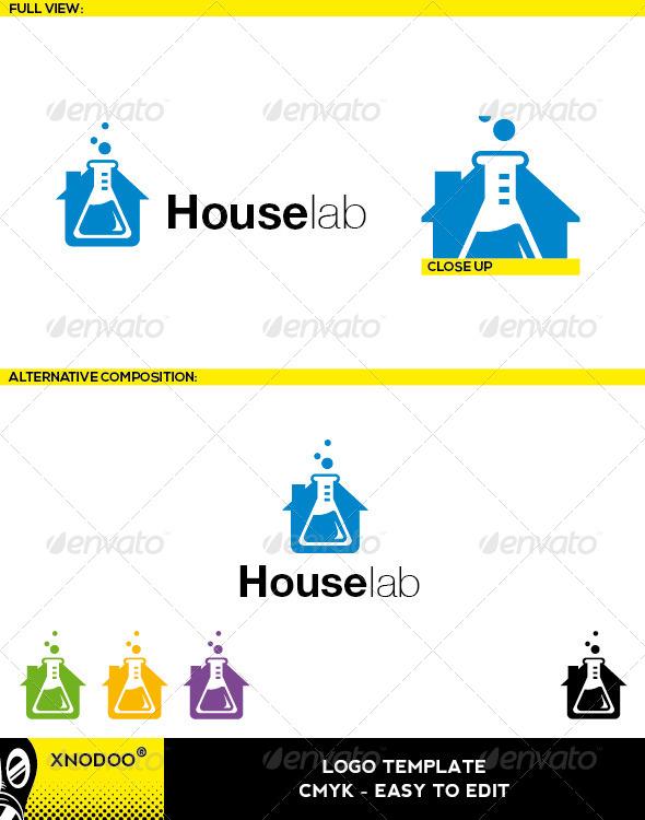 GraphicRiver Houselab Logo 5210173