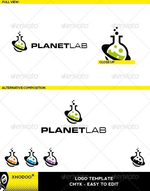 GraphicRiver Planetlab Logo 5210371