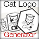 Cat Logo Generator - GraphicRiver Item for Sale