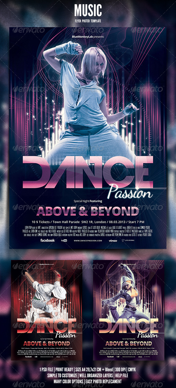 GraphicRiver Music Flyer Poster 6 5148957