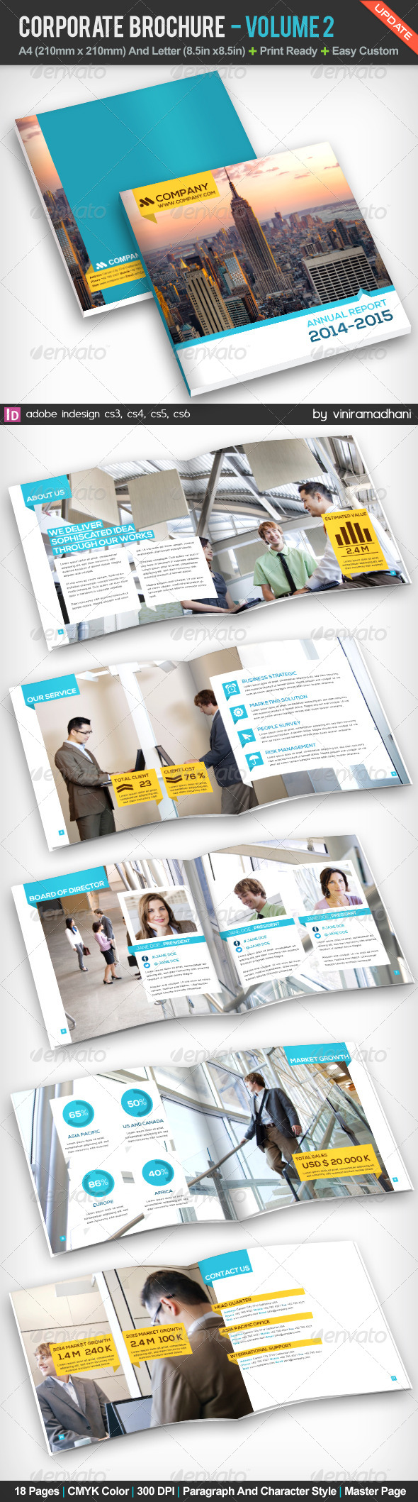 GraphicRiver Corporate Brochure Volume 2 5232767