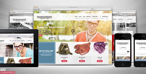 ThemeForest 456Market eCommerce Wordpress Theme 5221171