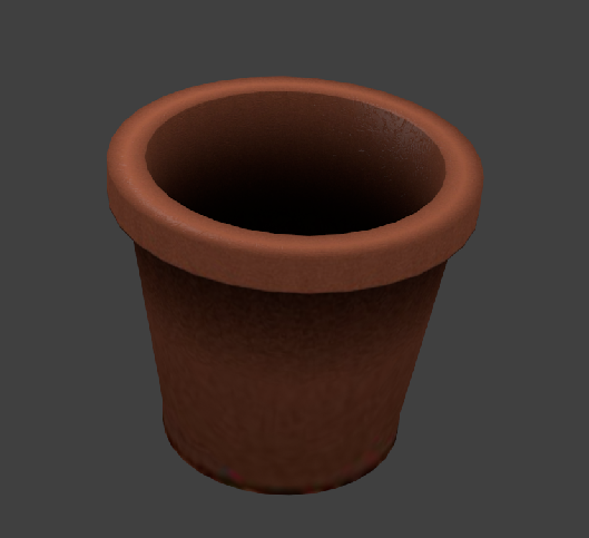3DOcean Brick Pot 1 538087