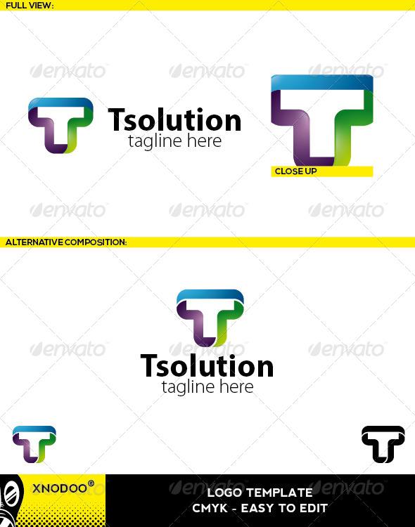 GraphicRiver Tsolution Logo 5210634