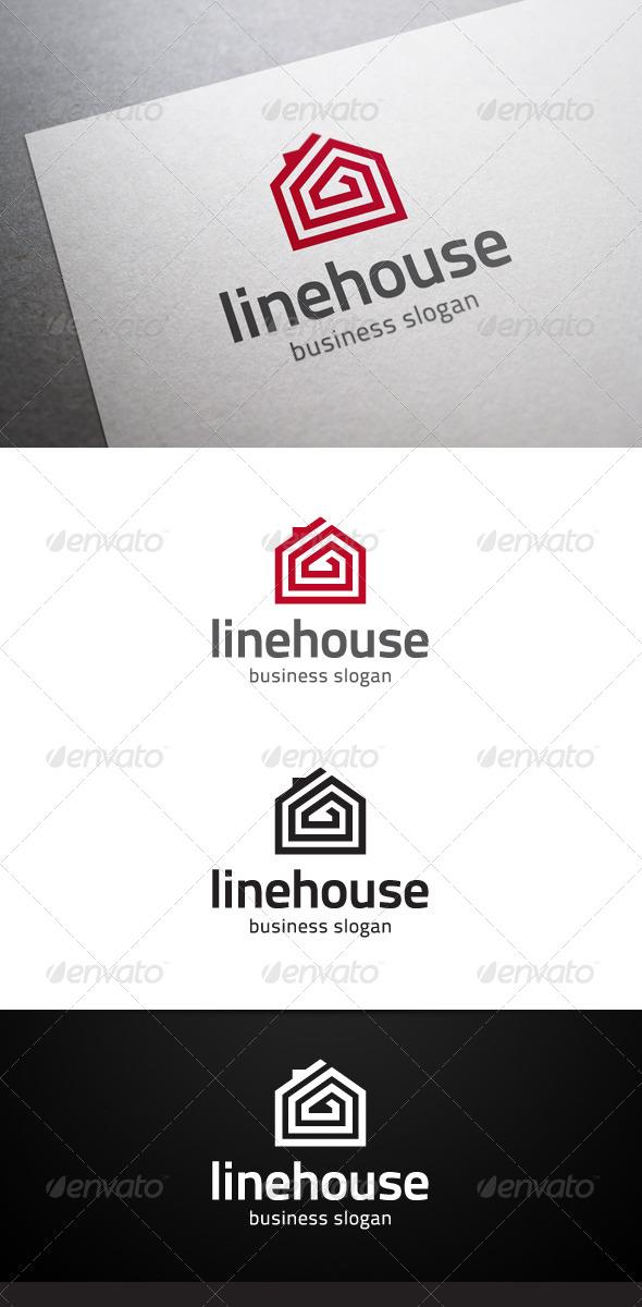 GraphicRiver Linehouse Logo 5233192