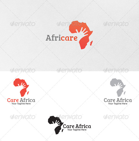 GraphicRiver Care for Africa Logo Template 5233310