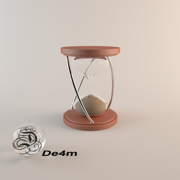 3DOcean Sand Clock 5233597