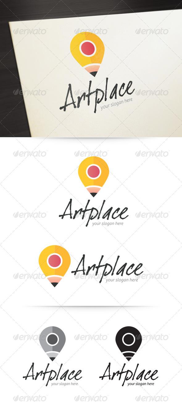 GraphicRiver Art Place Logo 5233938