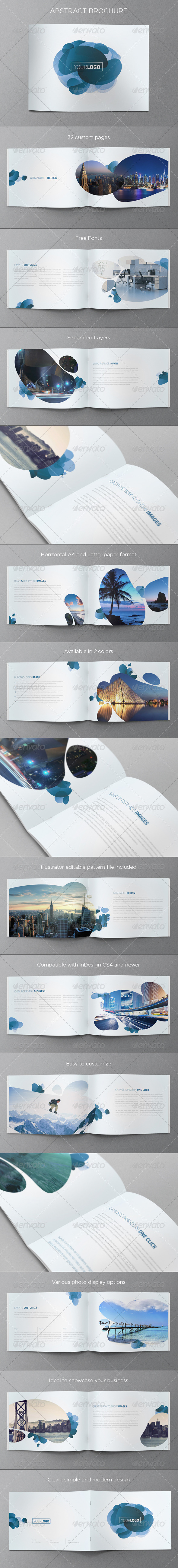 GraphicRiver Abstract Modern Brochure 5234402
