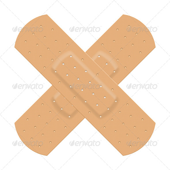GraphicRiver Medical Adhesive Plaster 5234604