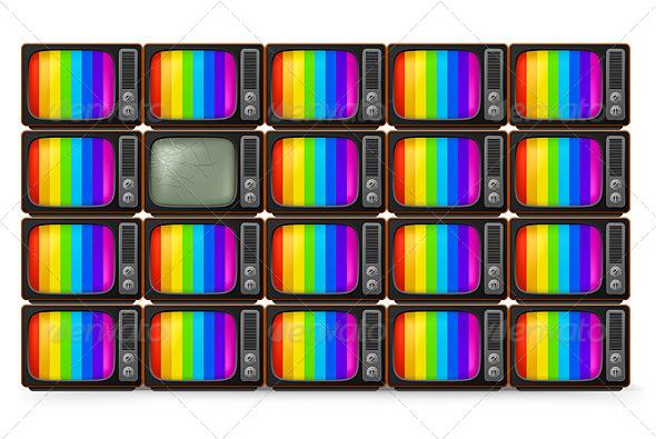 GraphicRiver Retro TV 5235063