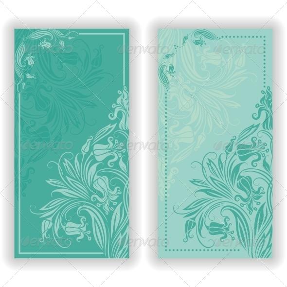 GraphicRiver Vector Template Design for Invitation 5235070