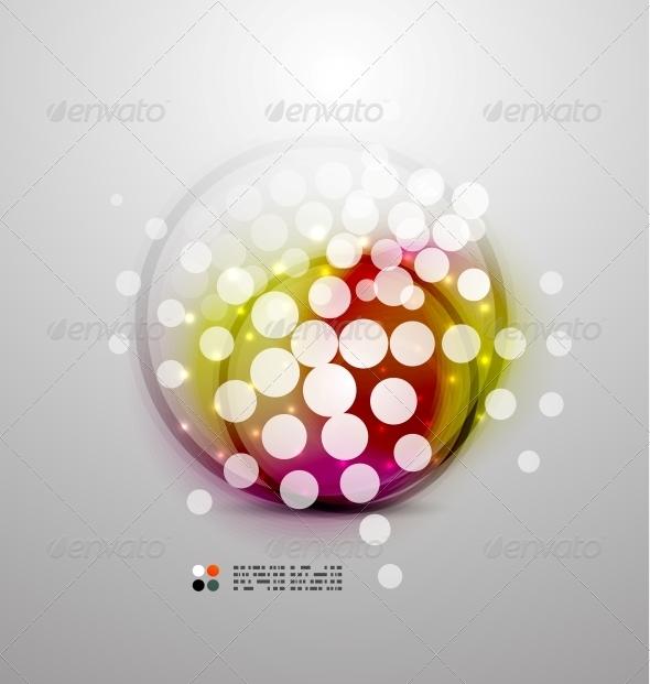 GraphicRiver Futuristic Colorful Circles 5235168