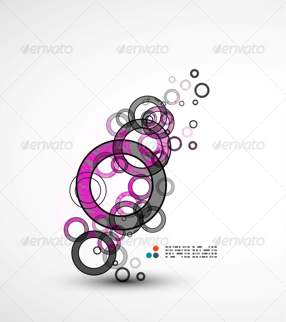 GraphicRiver Abstract Circles Composition 5235268