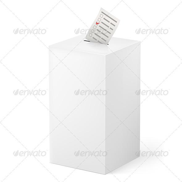 GraphicRiver Ballot Box 5235367
