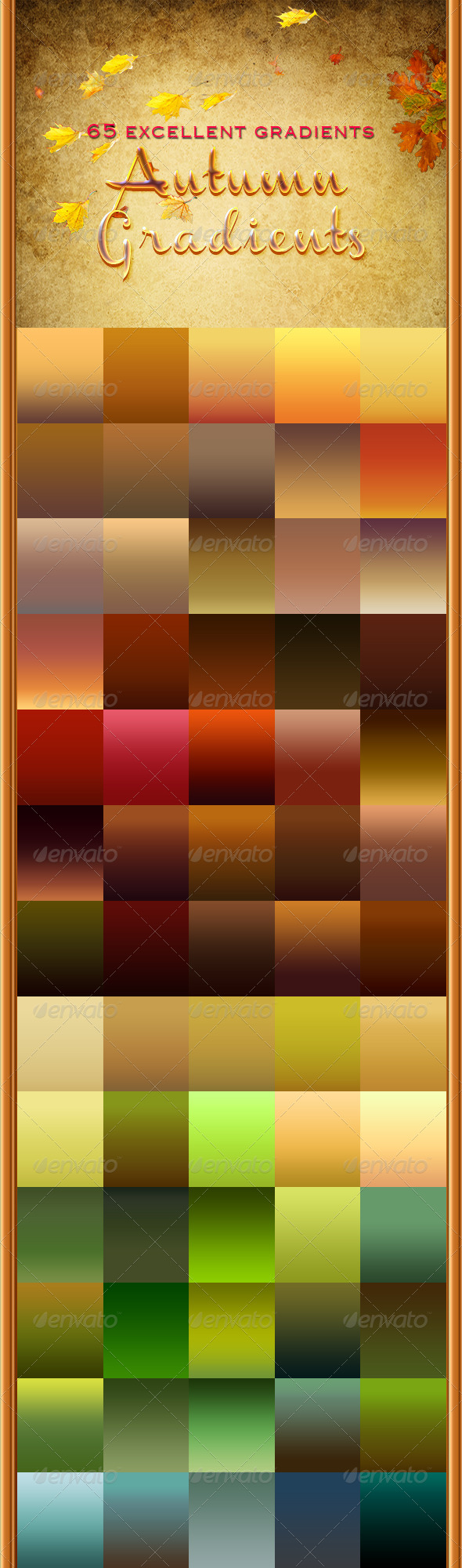 GraphicRiver Autumn Gradients 5235389