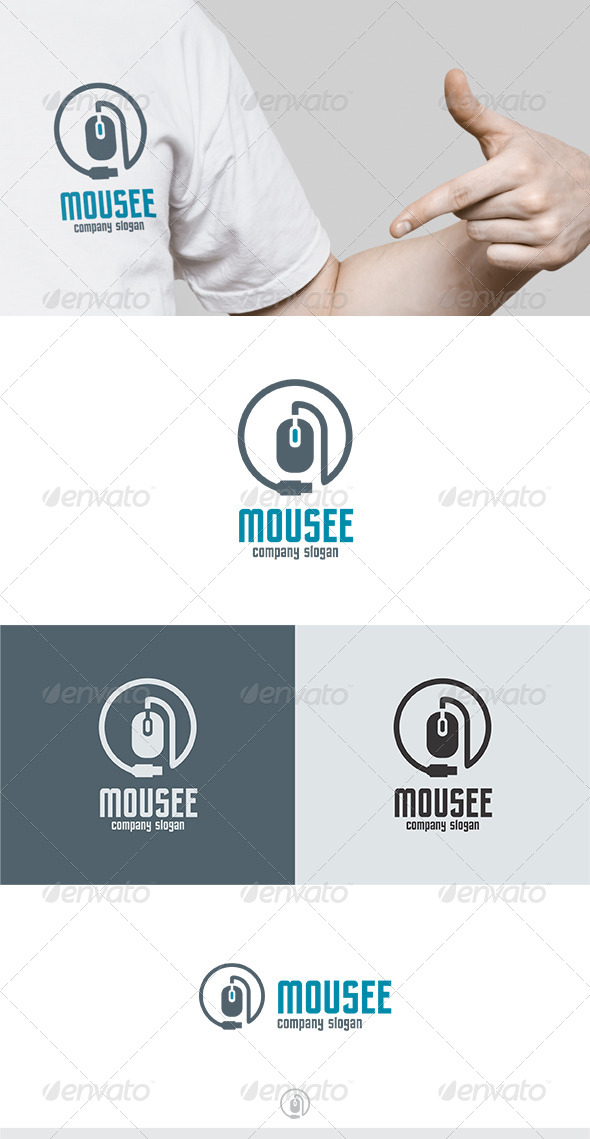 GraphicRiver Mousee Logo 5228387