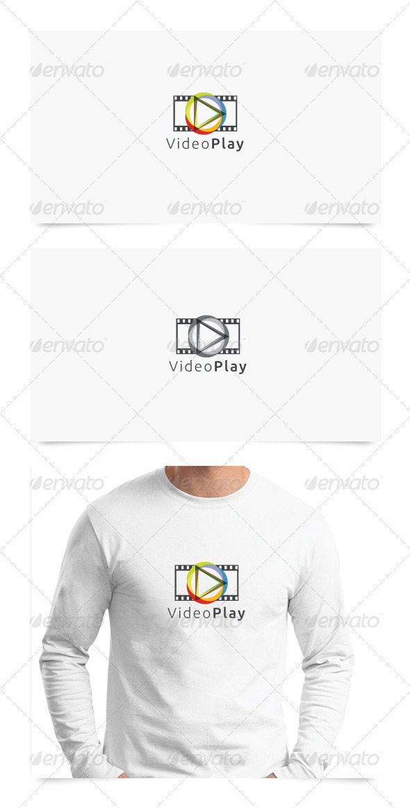 graphicriver video play 5236113 stock graphic logo template symbols