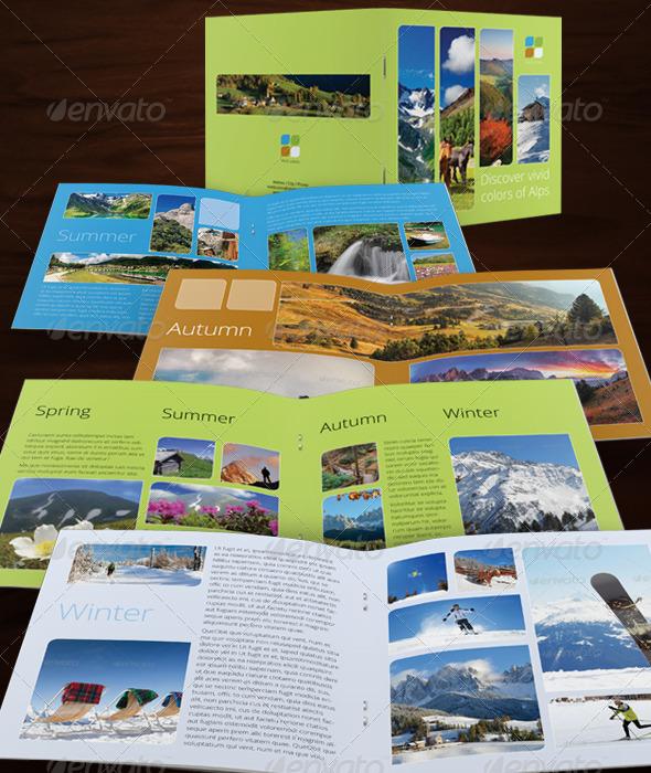 GraphicRiver Travel Brochure 5236679