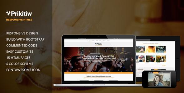 Prikitiw - Responsive HTML5 Template
