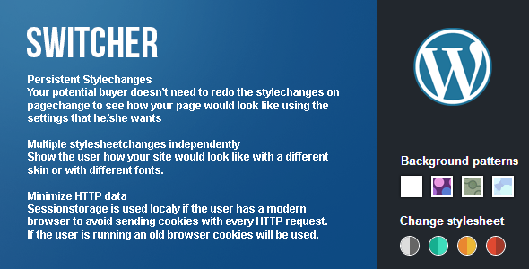 CodeCanyon Switcher Frontend theme customizer for WordPress 5236913