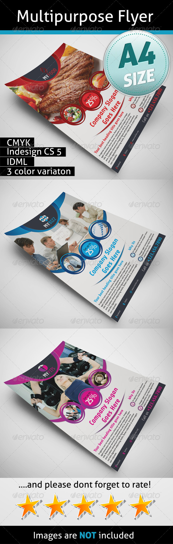 GraphicRiver Multipurpose Flyer 5237158