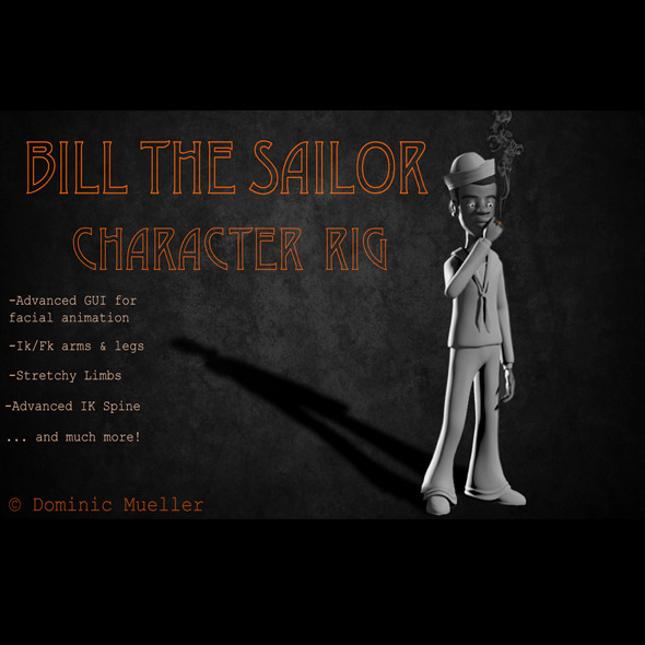 3DOcean Bill Rig 5237180
