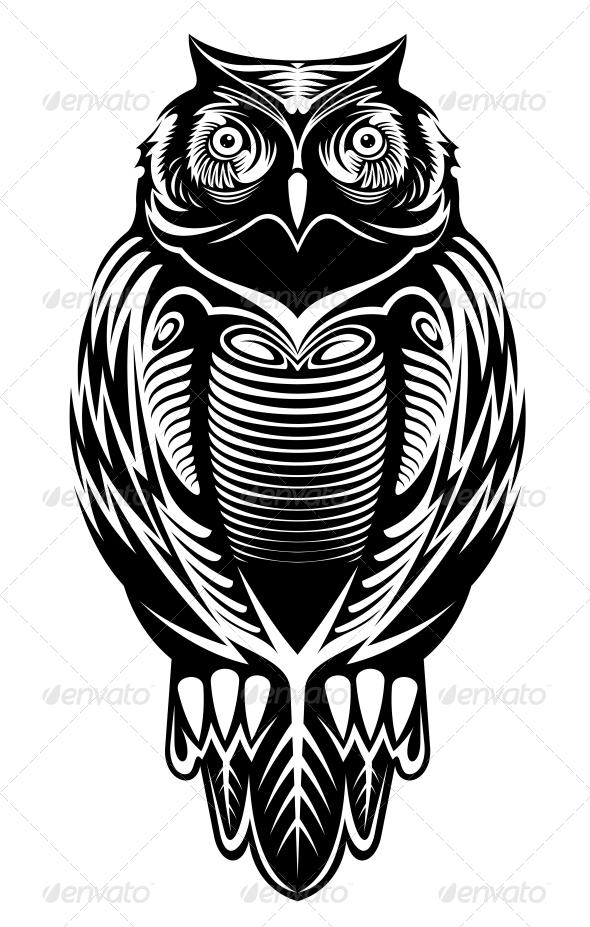 GraphicRiver Majestic Owl 5237573