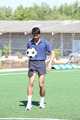 Soccer player juggle the ball  with his feet - PhotoDune Item for Sale