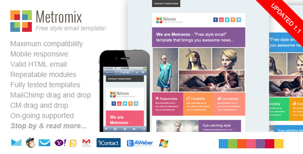 Metromix Responsive Email Template