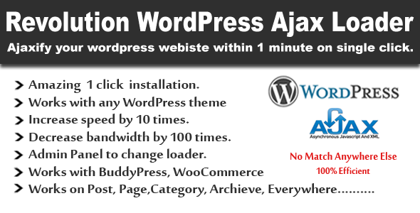 CodeCanyon Revolution WordPress Ajax Loader 5229927