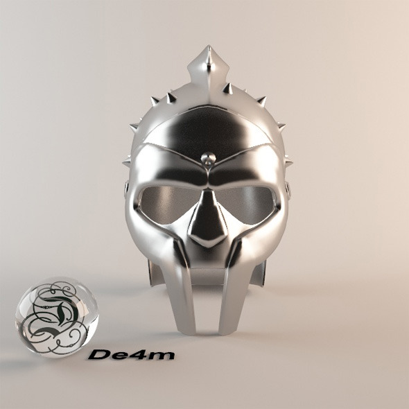 Maximus Gladiator Helmet - 3DOcean Item for Sale