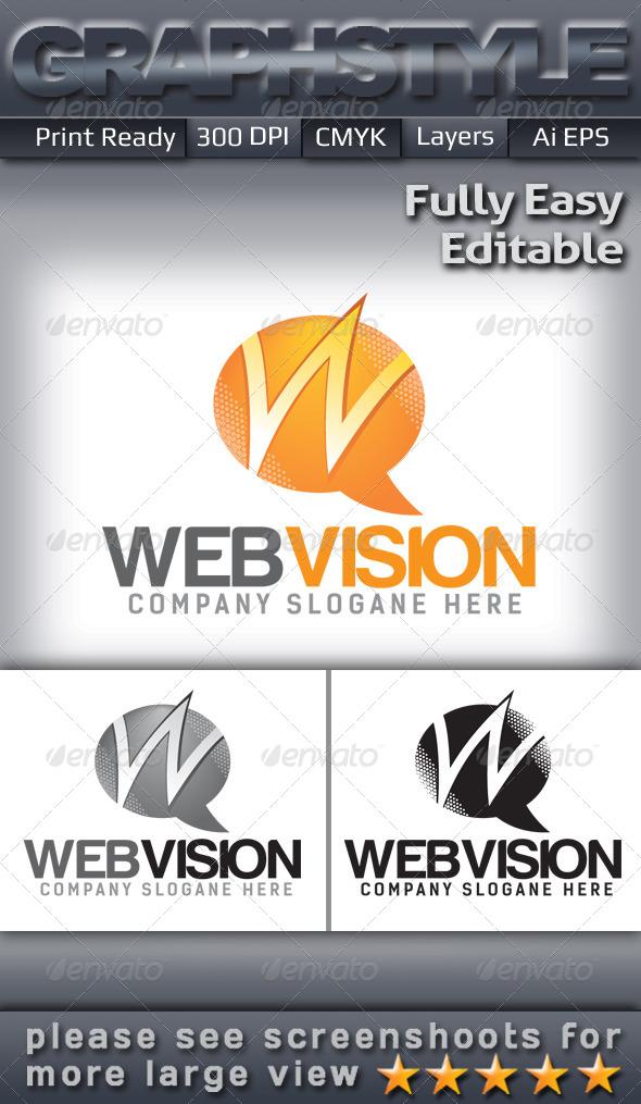 GraphicRiver Webvision Logo Templates 5225484