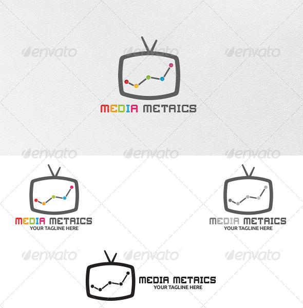 GraphicRiver Media Metrics Logo Template 5238593