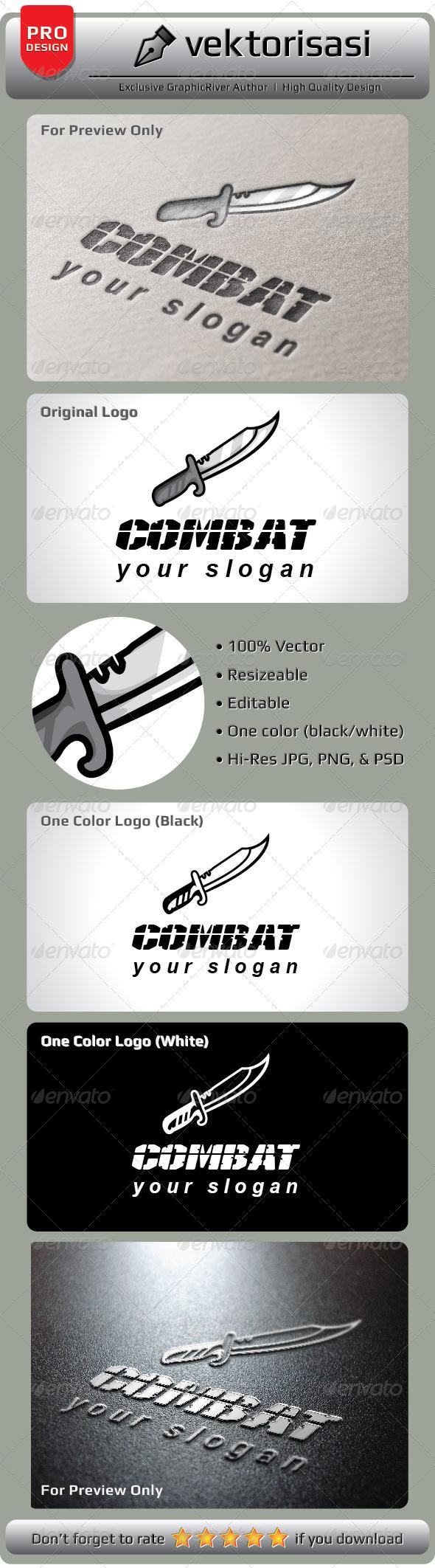 GraphicRiver Combat Logo 5238616