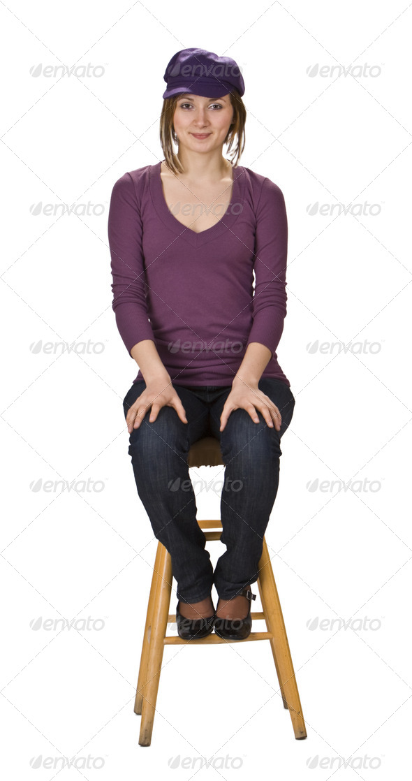 The Model  - Stock Photo - Images