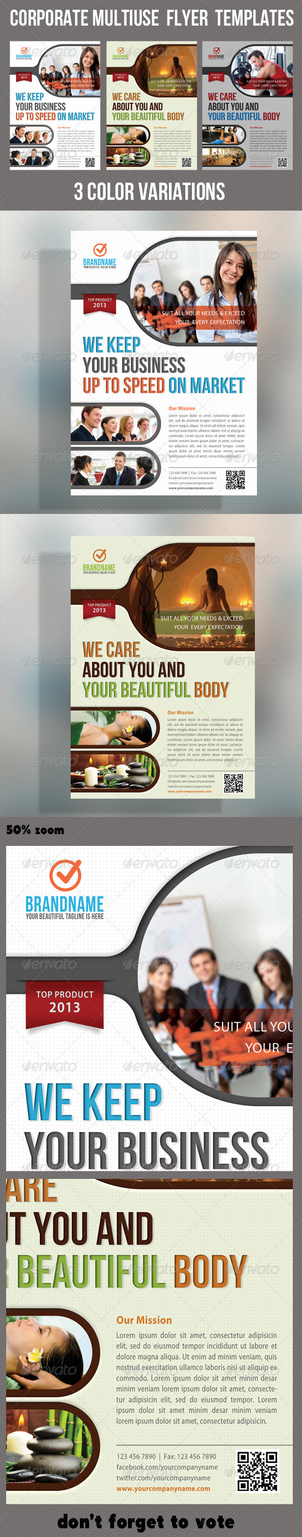 Corporate Product Flyer 14 - Corporate Flyers
