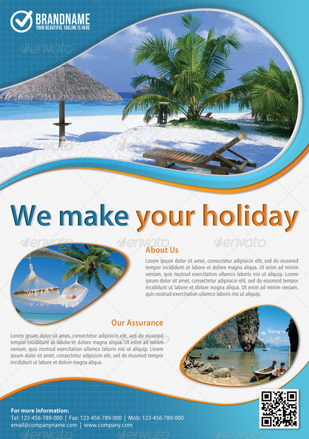 Corporate Travel Product Flyer Bundle By Rapidgraf