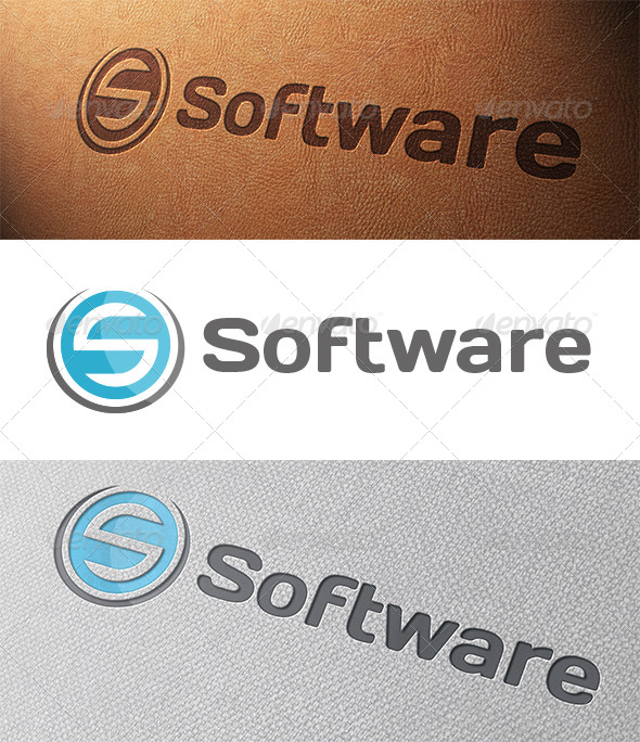 Software Tech Letter S Logo Template
