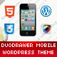DuoDrawer Mobile Retina | WordPress Version - ThemeForest Item for Sale