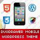 DuoDrawer Mobile Retina | WordPress Version  Free Download