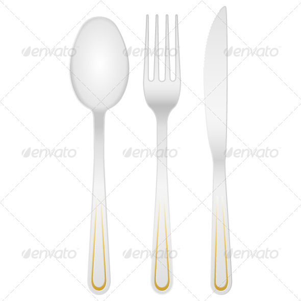 GraphicRiver Cutlery Set 5240844