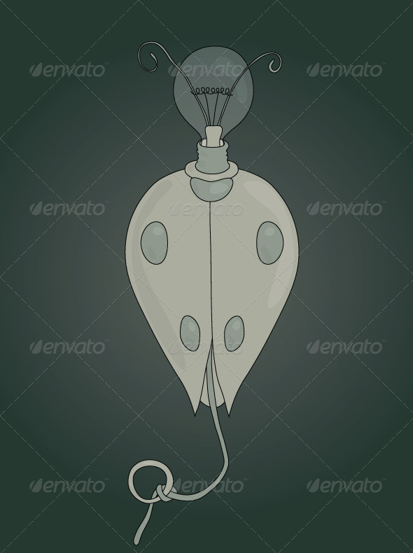 GraphicRiver Lady Light Bug 5234330