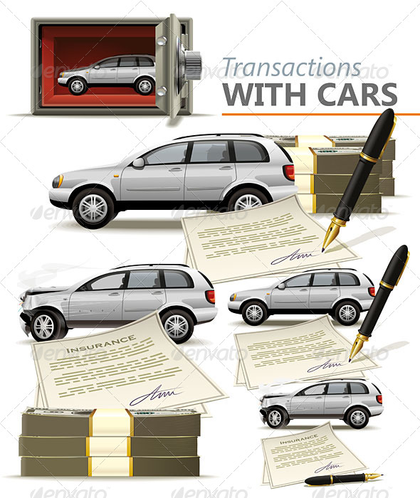 GraphicRiver Transactions with Cars 5241791