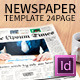 Newspaper Template Compact Tabloid Size - 24 Page - GraphicRiver Item for Sale