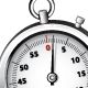 Realistic Silver Chronometer